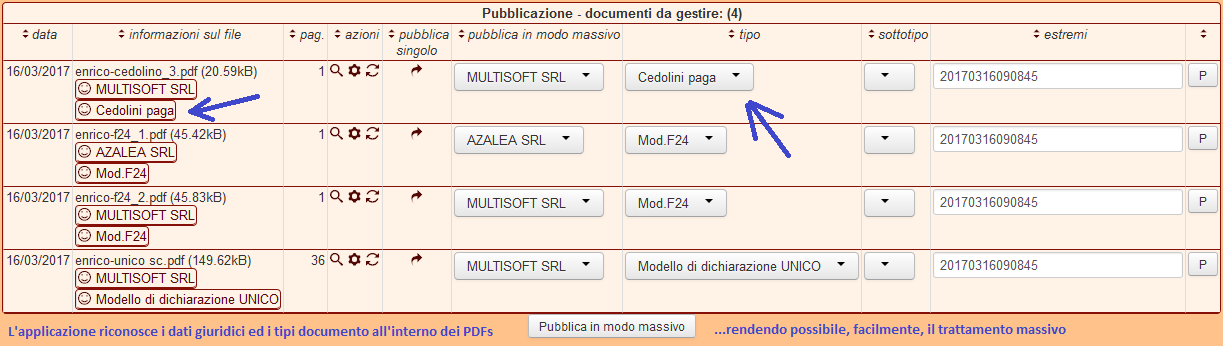 CRMITALY.it totale riconoscimento documenti PDF